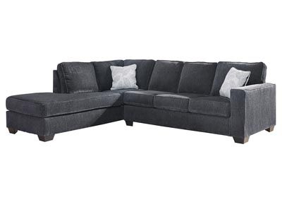 Altari Slate Right Arm Facing Chaise Sectional Category Living