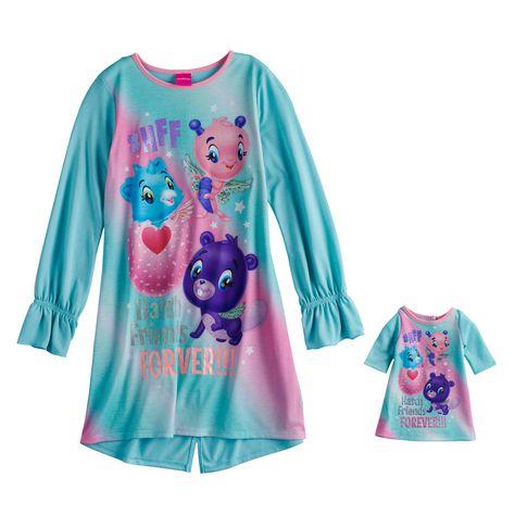 NWT Girls Purple Hatchimals Short Sleeve Graphic Tshirt