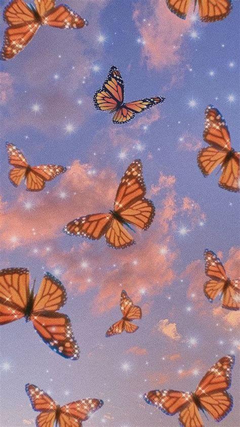 Wallpaper In 2020 Butterfly Wallpaper Iphone Cute In 2021 Butterfly Wallpaper Iphone Butterfly Wallpaper Hippie Wallpaper