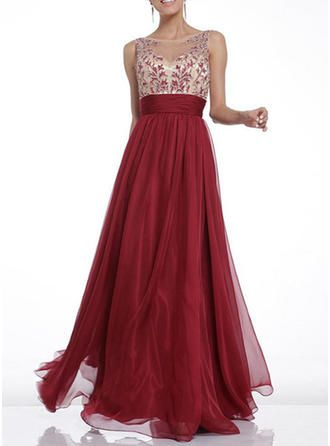 finest selection acbc1 c3842 Solid Sleeveless A-line Maxi Party Dresses (199261984) in ...