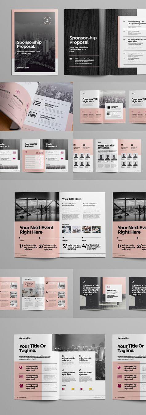 Business Proposal Brochure Layout - Acheter ce template libre de droit et découvrir des templates similaires sur Adobe Stock