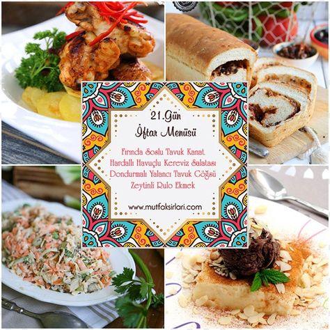 21.Gün İftar Menüsü 2020 – Mutfak Sırları – Pratik Yemek Tarifleri
