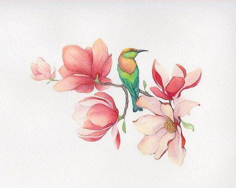 Фото тату Алёна Старикова - Тату цветы эскиз