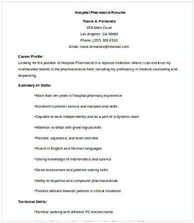 Hospital Pharmacist Resume Pharmacy Manager Resume If You Are Applying For Pharmacy Manager Read This Pharmacy Manager Manager Resume Resume Writing Tips