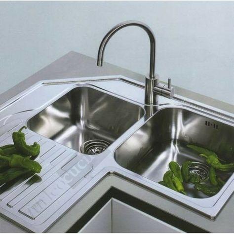 Bildergebnis für cucina lavandino angolare | kitchen ...