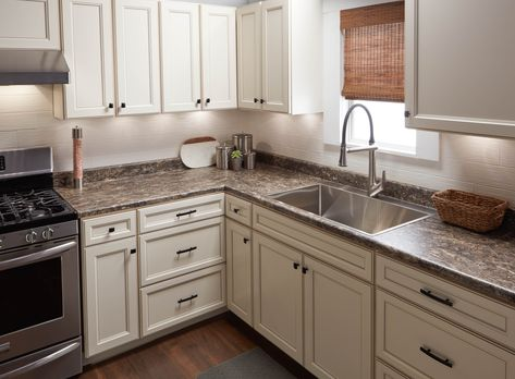 Traditional Style Kitchen Featuring Vt Dimensions Laminate