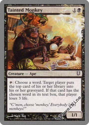 U MTG Magic - Commander 2015-4x Tainted Wood x4 NM//M
