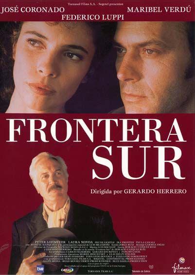 Frontera Sur 1998 De Gerardo Herrero Tt0168813 Carteles De Cine Cine Peliculas