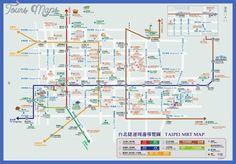 Taipei Metro Map - http://toursmaps.com/taipei-metro-map.html