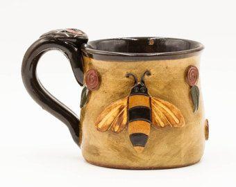 Newfoundland Mug  Newfie Mug  Pottery  Ceramic  by PotteryByChaucy