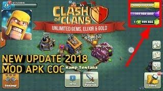 Clash Of Clans Hack Mod Apk New Update 2018 Unlimited Gems