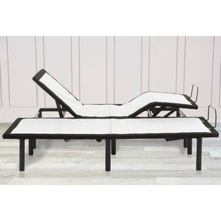 Adjustable Bed Frame Adjustable Legs Heights Dual Massage Usb