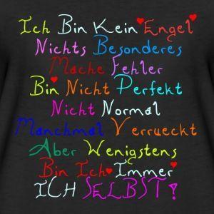 Ich bin kein Engel - Freche Sprüche T-Shirts - Frauen Premium T-Shirt - #bin #Engel #Frauen #frauenoutfits #frauenoutfitsherbst #frauenoutfitssommer #frauenoutfitssportlich #frauenoutfitswinter #Freche #ich #kein #Premium #Sprüche #TShirt #TShirts