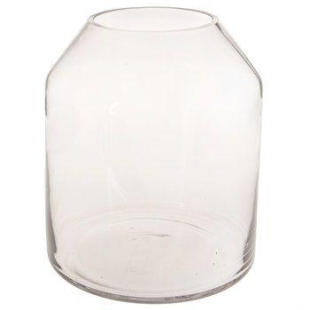 Tapered Cylinder Glass Vase Glass Vase Clear Glass Vases Vase
