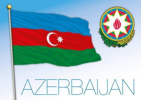Bandera De Azerbaiyan Flag Azerbaijan Flag National Flag