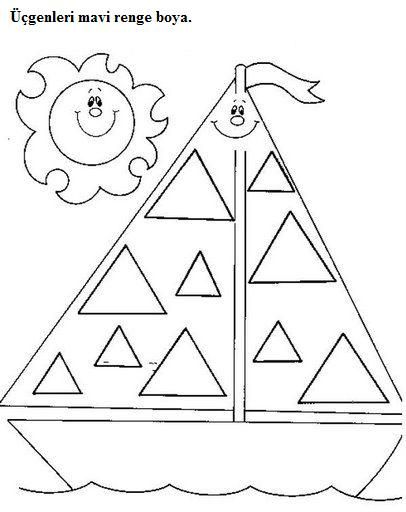 Triangle Tracing Worksheet For Preschool Triangle Worksheet Shape Tracing Worksheets Triangles Activities Triangle worksheet for kindergarten