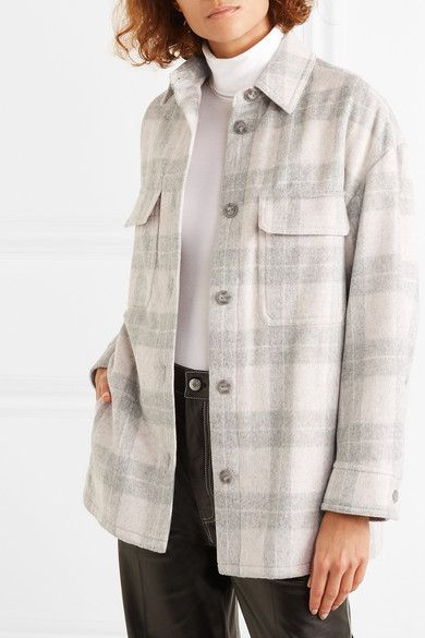 Vince Womens Check Plaid Long Sleeve Shirt