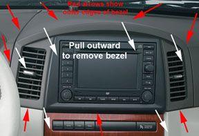 Jeep Grand Cherokee Wk Interior Trim Removal Jeep Upgrades