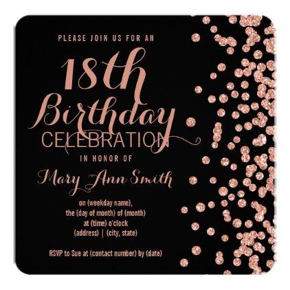 25 birthday invitations ideas