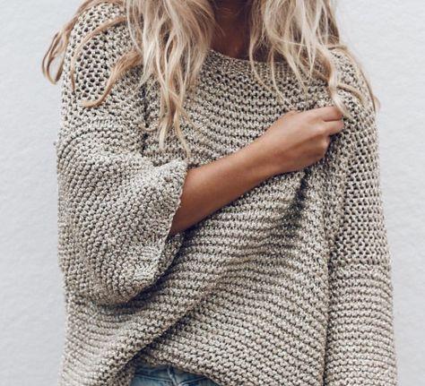 Breitip van oma goed idee zeg. | Breien truien, Trui