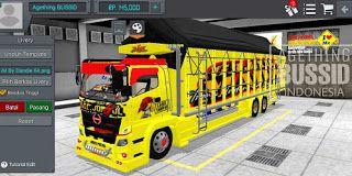 Download Mod Bussid Truk Hino 500 Terpal Segitiga Agething Bussid Truk Besar Truk Mobil Polisi