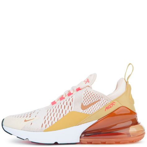 Nike Women s Nike Air Max 270 Guava Ice terra Blush-racer Pink ... 28f16dc981