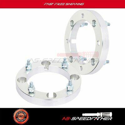 "4X 1/"" 4x156 131 mm silver wheel spacers 10x1.25 for 2014-2019 Polaris RZR XP"