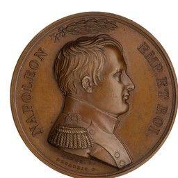 American Numismatic Society Bronze Medal France 1799 1815 19 147 1272 Napoleon Numismatics Napoleon Movie