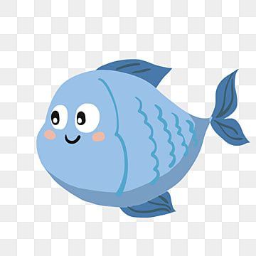 Hand Painted Cartoon Blue Fish Fish Clipart Fish Blue Fish Png Transparent Clipart Image And Psd File For Free Download Fish Clipart Doodle Background Cartoon Fish