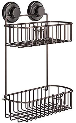 Amazon Com Hasko Accessories Shower Caddy With Suction Cups 304
