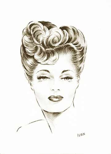 1940s Hairstyle Tutorials Vintage Makeup Guide 1940s Hairstyles Vintage Makeup Retro Hairstyles