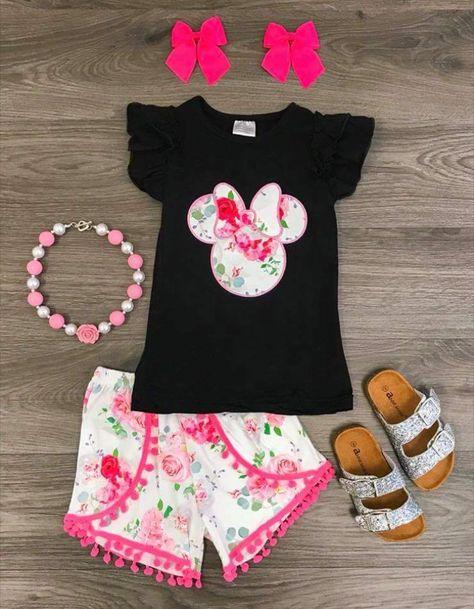 Disney Minnie Babies Kleid /& Slips 2016 Kollektion pink