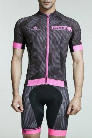 2016 Mens Cool Road Bike Jersey Dawn Pink Coolbikeaccessories