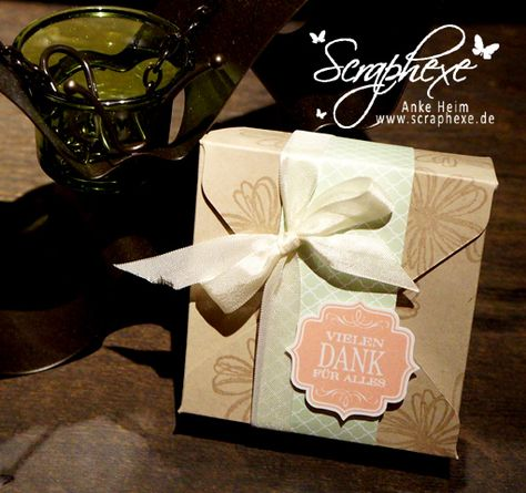 Box using Stampin' Up!'s envelope punch board