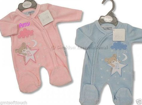 Personalised Lace Baby grow//Sleepsuit