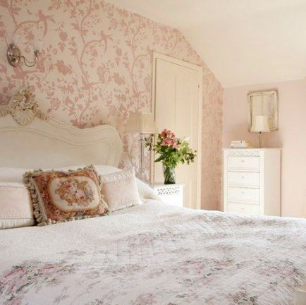 Pink Floral Wallpaper Bedroom 37 Best Ideas Pink Wallpaper Bedroom Guest Bedroom Design Wallpaper Bedroom Feature Wall