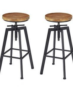 50 Farmhouse Bar Stools Discover The Top Rated Rustic Bar Stools For Your Farm Home With Images Bar Stools Rustic Bar Stools Farmhouse Bar Stools