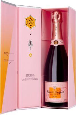 Veuve Clicquot's famous Rosé Champagne