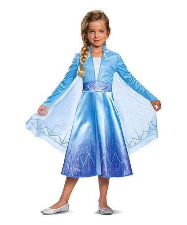 This Frozen Elsa Deluxe Dress Up Set Toddler Girls Is Perfect Zulilyfinds Fancy Dresses Party Princess Dress Kids Dresses Kids Girl