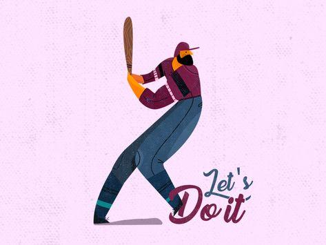 Baseball illustration ⚾️
