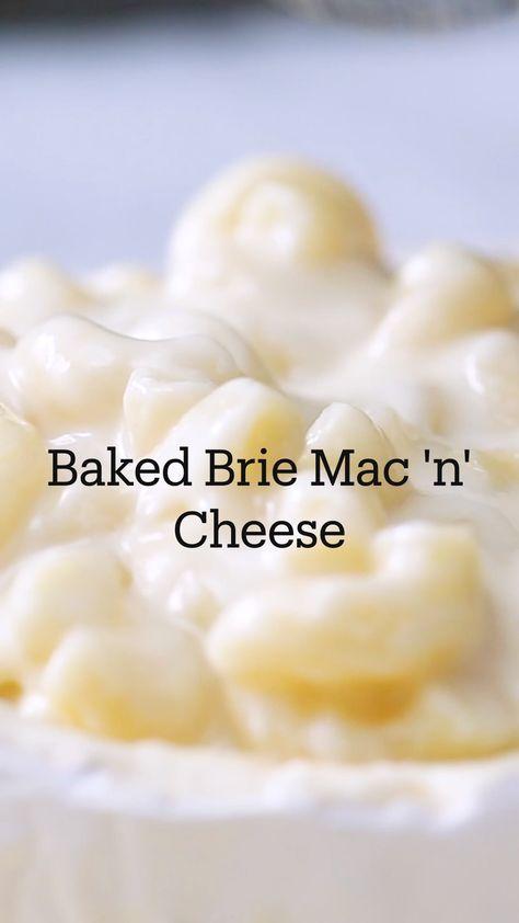 Baked Brie Mac 'n' Cheese