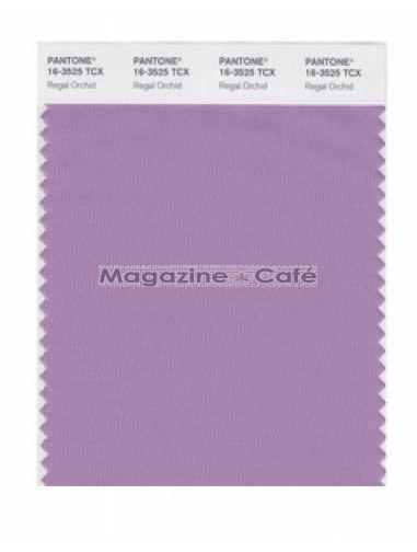 Pantone Smart 16-3525 TCX Color Swatch Card, Regal Orchid - Pantone
