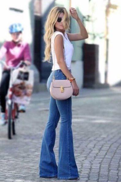 Ispanyol Paca Yuksek Bel Bayan Kot Pantolon Tesettur Jean Modelleri 2020 T Tesettur Jean Modelleri 2020 Denim Fashion Moda Stilleri Ispanyol Paca