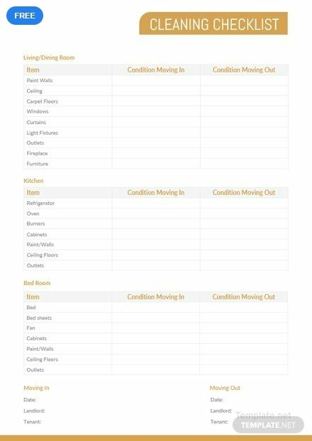 Cleaning Checklist Template Free Pdf Word Apple Pages Google Docs Cleaning Checklist Template Cleaning Checklist Event Planning Checklist Templates