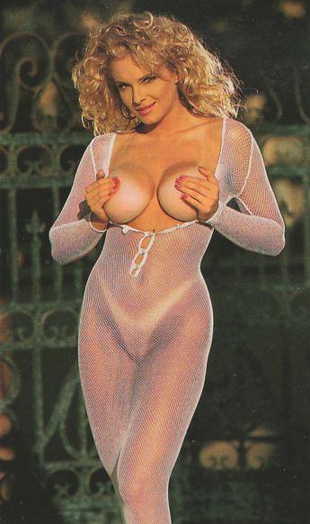 Blonde model penthouse 1980s nude