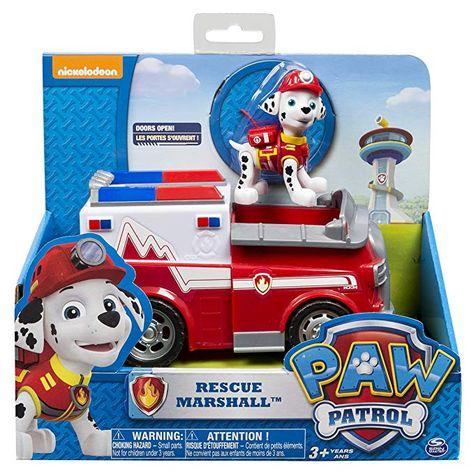 Paw Patrol Véhicule Figurine Cadeau La Pat/' Patrouille Enfant Jouet Jeu top fun