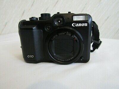 Canon Powershot G10 14 7mp Digital Camera With 5x Wide Digital Camera Powershot Canon Powershot