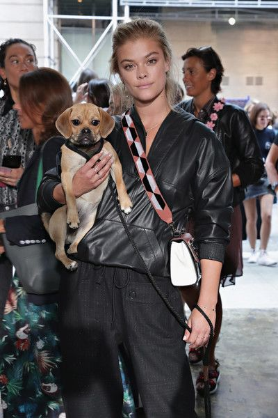 Nina Agdal at Zadig & Voltaire - Here's What Celebs Wore to Sit Front Row This Fashion Week - Photos