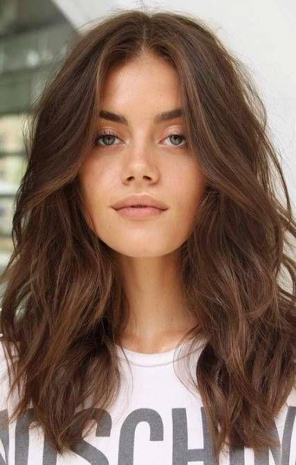 Hair Haircut Haircut For Long Haircut For Long Hair Round Face Simple 42 Ideas In 2020 Haircuts For Wavy Hair Face Shape Hairstyles Wavy Hairstyles Medium