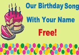 Pin On Happy Birthday Songs